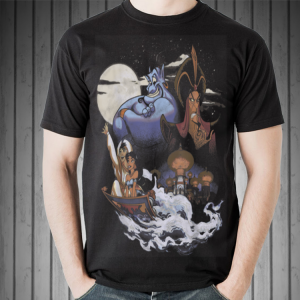 Disney Aladdin Winds of Agrabah Main Cast shirt