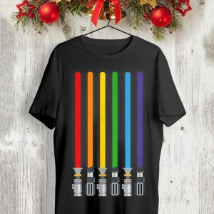 LGBT Flag Light Swords Gay Pride shirt