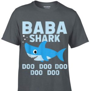 Baba Shark Fathers Day From Wife Son Daughter shirt