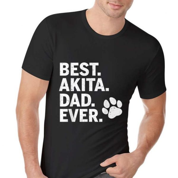 Best Akita Dad Ever Ideas shirt