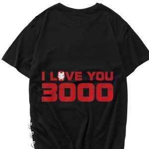 Endgame Iron Man I Love You 3000 Marvel Avengers shirt