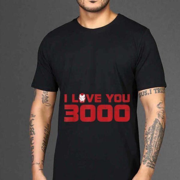 Endgame Iron Man I Love You 3000 Marvel Avengers shirt