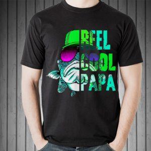 Fathers Day Fishing Reel Cool Papa shirt