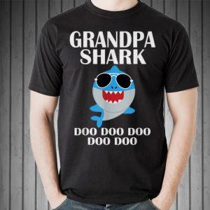 Grandpa Shark Doo Doo Doo Fathers Day Grandpa shirt