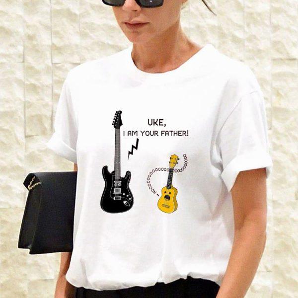 Guitar electric Uke i am your father shirt