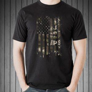 Jeep Camo American Flag shirt