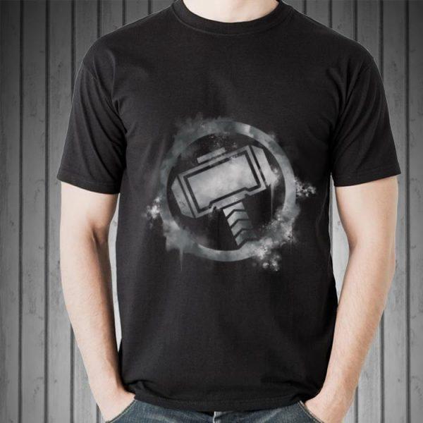 Marvel Avengers Endgame Thor Spray Paint shirt