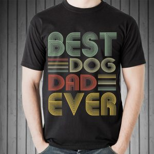 Vintage Best Dog Dad Ever Father's Day