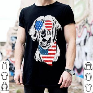 4th Of July American Flag Labrador Dog shirt
