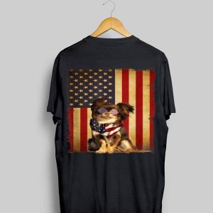 4th Of July Chihuahua American Flag Dog Vintage shirt