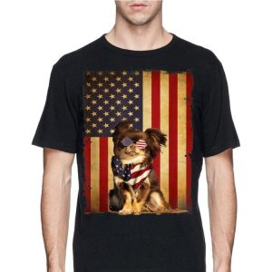 72afe36cf012 4th Of July Chihuahua American Flag Dog Vintage shirt, hoodie ...
