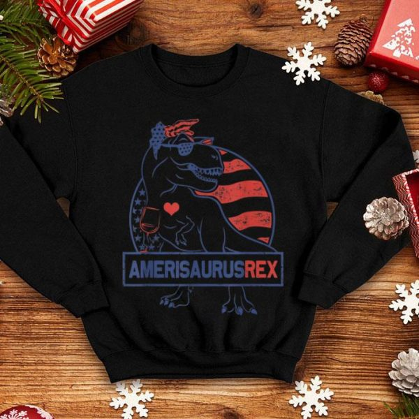4th Of July Dinosaur Amerisaurus Rex shirt