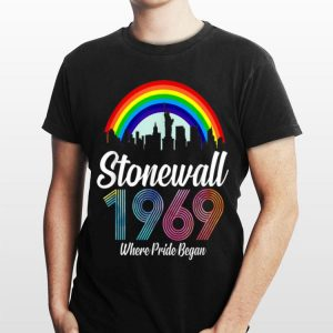 90's Style Stonewall Riots 50th Nyc Gay Pride Lbgtq Rights shirt