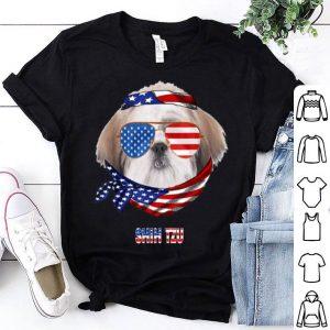 American Flag Shih Tzu Dog Lover shirt