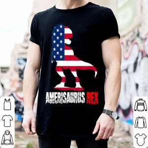 Amerisaurus Rex Dinosaur 4th Of July Patriotic shirt