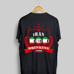 Beer Iran Drinking Team Casual Iran Flag shirt