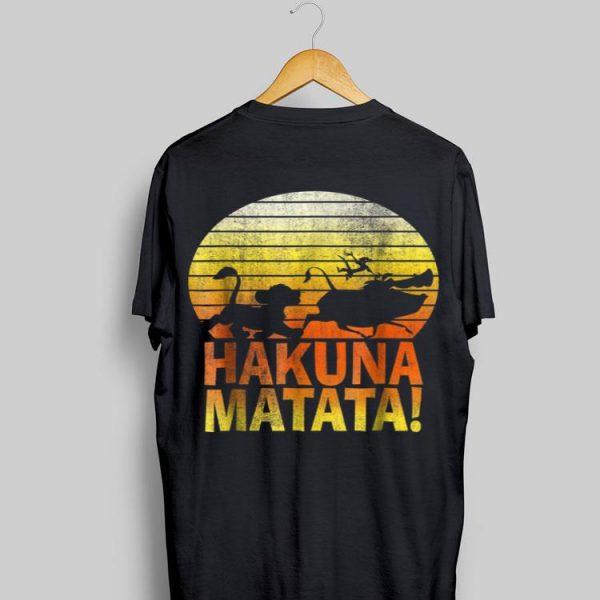 Disney Lion King Hakuna Matata Profile shirt