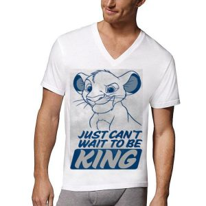 Disney Lion King Kid Simba Just Can't Wait To Be King Poster shirt