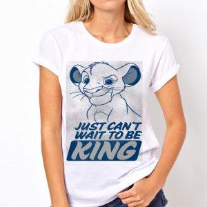 Disney Lion King Kid Simba Just Can't Wait To Be King Poster shirt