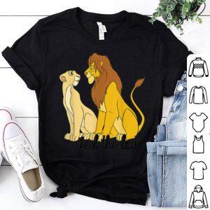 Disney Lion King Simba Nala Feel The Love shirt
