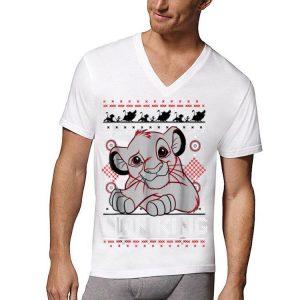 Disney Lion King Simba Ugly Christmas Sweater Design shirt