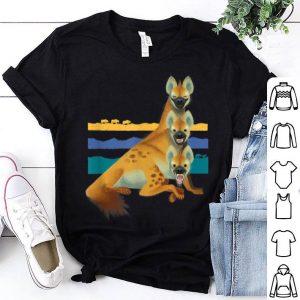 Disney The Lion King Laughing Hyenas Stripes shirt