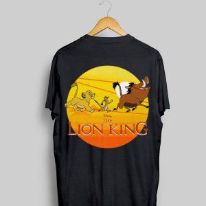 Disney The Lion King Simba Timon And Pumba Sunset shirt