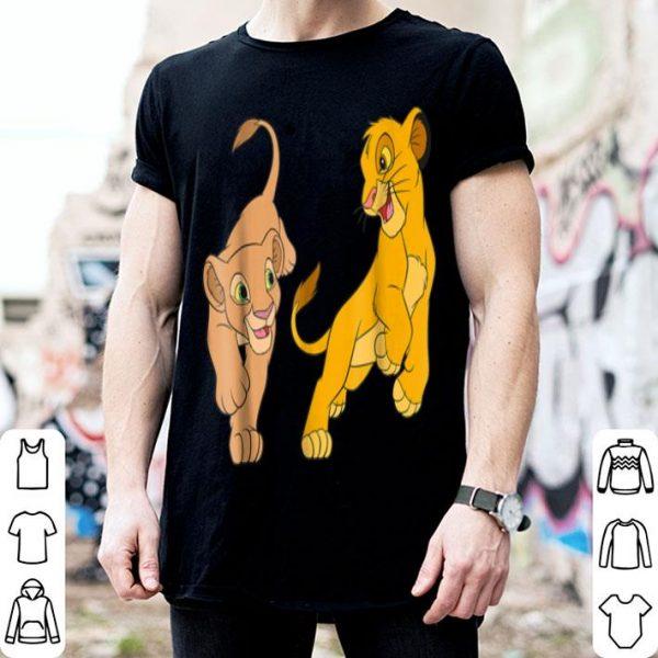 Disney The Lion King Young Simba and Nala Play shirt