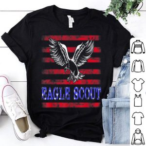 Eagle American Flag Scout shirt
