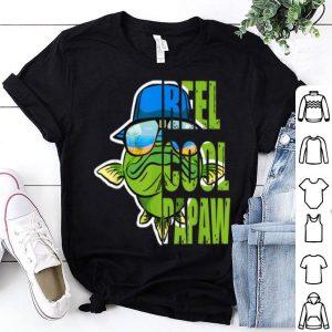 Fishing Reel Cool Papaw Fathers Day shirt