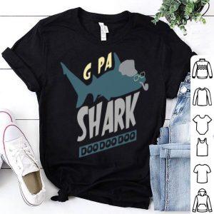 G Pa Shark Doo Doo Grandpa Father's Day shirt