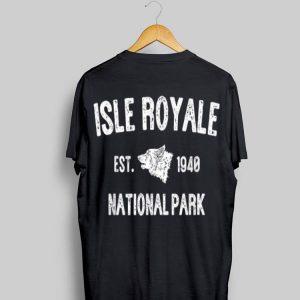 Isle Royale National Park Michigan Travel shirt