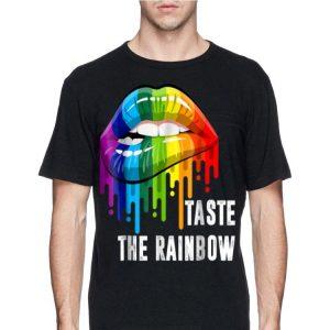 LGBT Taste The Rainbow Lips LGBT Pride shirt