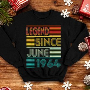 Legend Since June 1964 55th Birthday 55 Years Old shirt