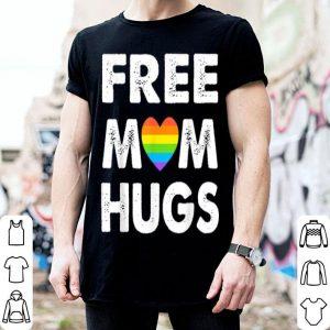 Lgbt Heart Rainbow Free Mom Hugs Pride shirt