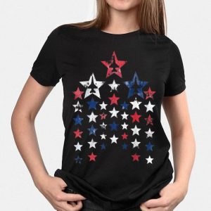 Memorial Day Fireworks Airplane Fighter Usa Flag shirt