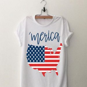 Merica USA American Flag Day 4th of July for Men Women Kids Premium shirt