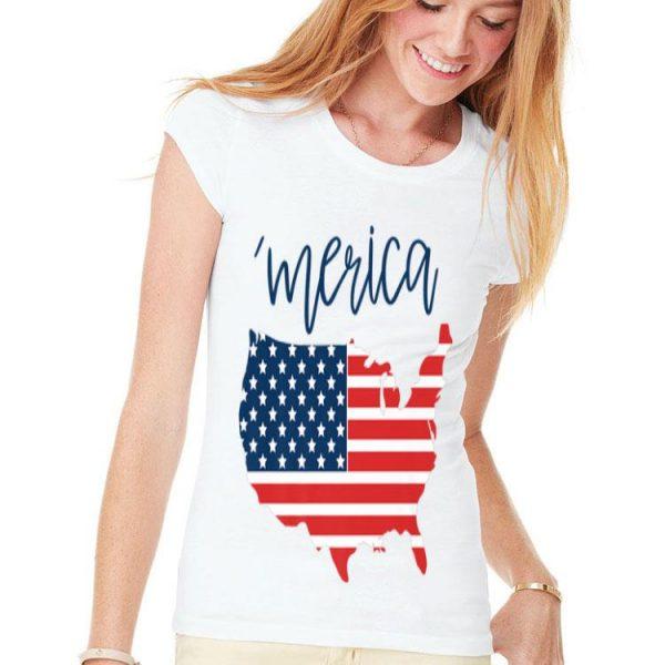 Merica USA American Flag Day 4th of July for Men Women Kids Premium shirt