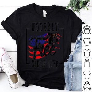 Patriotic Cow 4th of July American Flag shirt