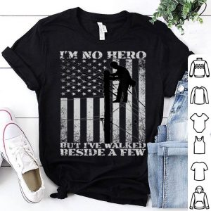 Patriotic Lineman American Flag 4th Of July Tee shirt