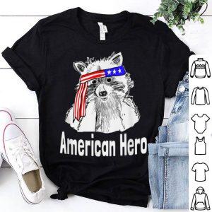 Raccoon Patriotic American Hero Trash Panda shirt