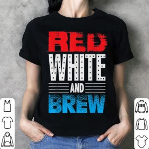 Red White And Brew Wine And Beer shirt