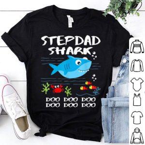 Stepdad Shark Fathers Day Idea For Dad Husband shirt