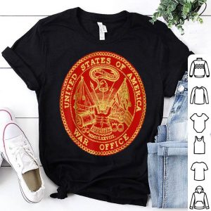 United States Of America War Office Logo shirt