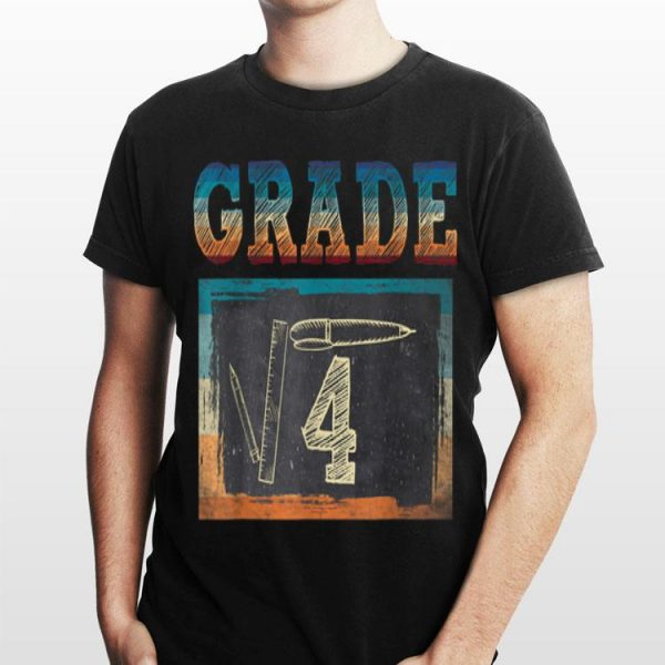 2nd Grade Back To School Square Root Of 4 Math shirt