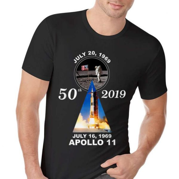 50th 2019 Anniversary Moon Landing Apollo 11 July 1969 hoodie