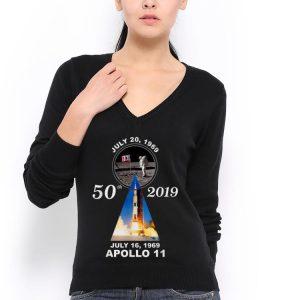 50th 2019 Anniversary Moon Landing Apollo 11 July 1969 hoodie 2