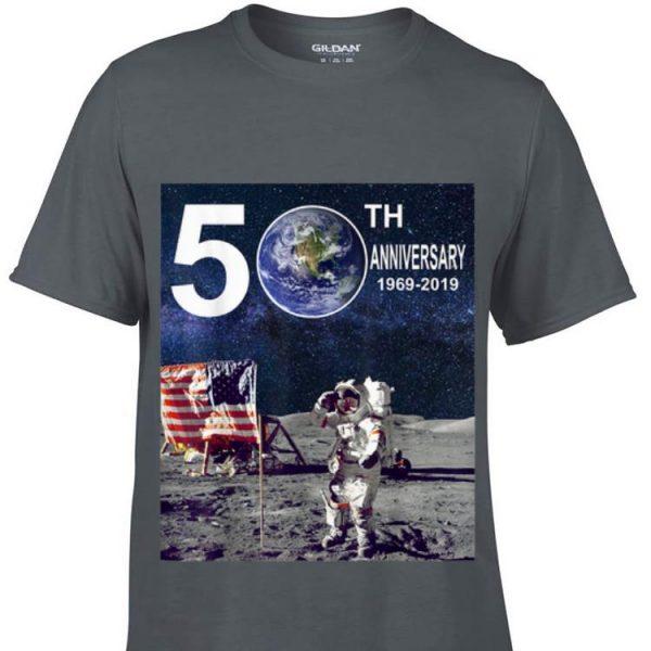 50th Anniversary Moon Landing Apollo 11 Astronaut American Flag sweater