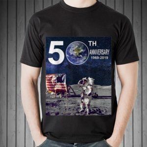 50th Anniversary Moon Landing Apollo 11 Astronaut American Flag sweater