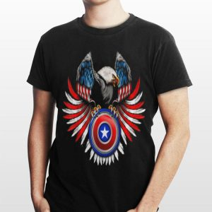 American Flag Eagle 4Th Of July Independence Day shirt